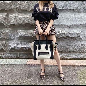 CELINE luggage cloth Handbag